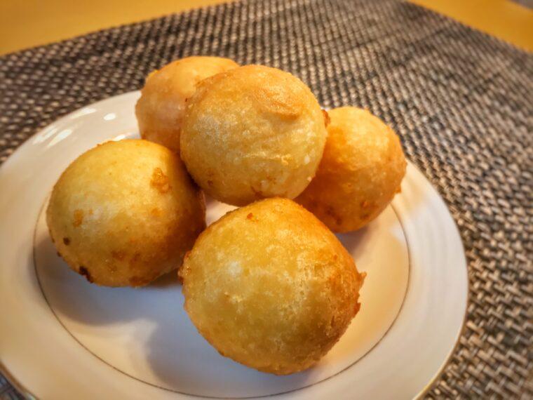 ボール 作り方 チーズ の