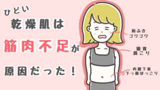 乾燥肌筋トレ